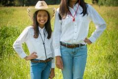 Maria and Deeya family portraits, DP ranch