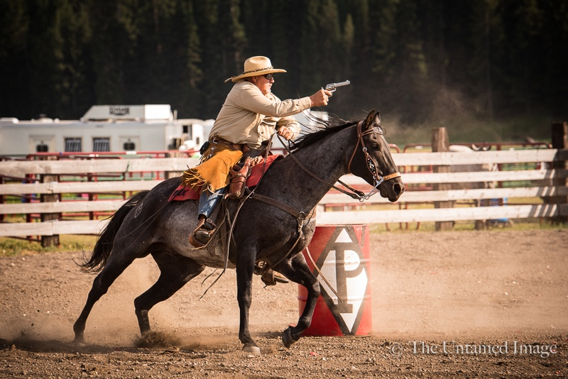 Cowboy Mounted Shooting Event, 2018